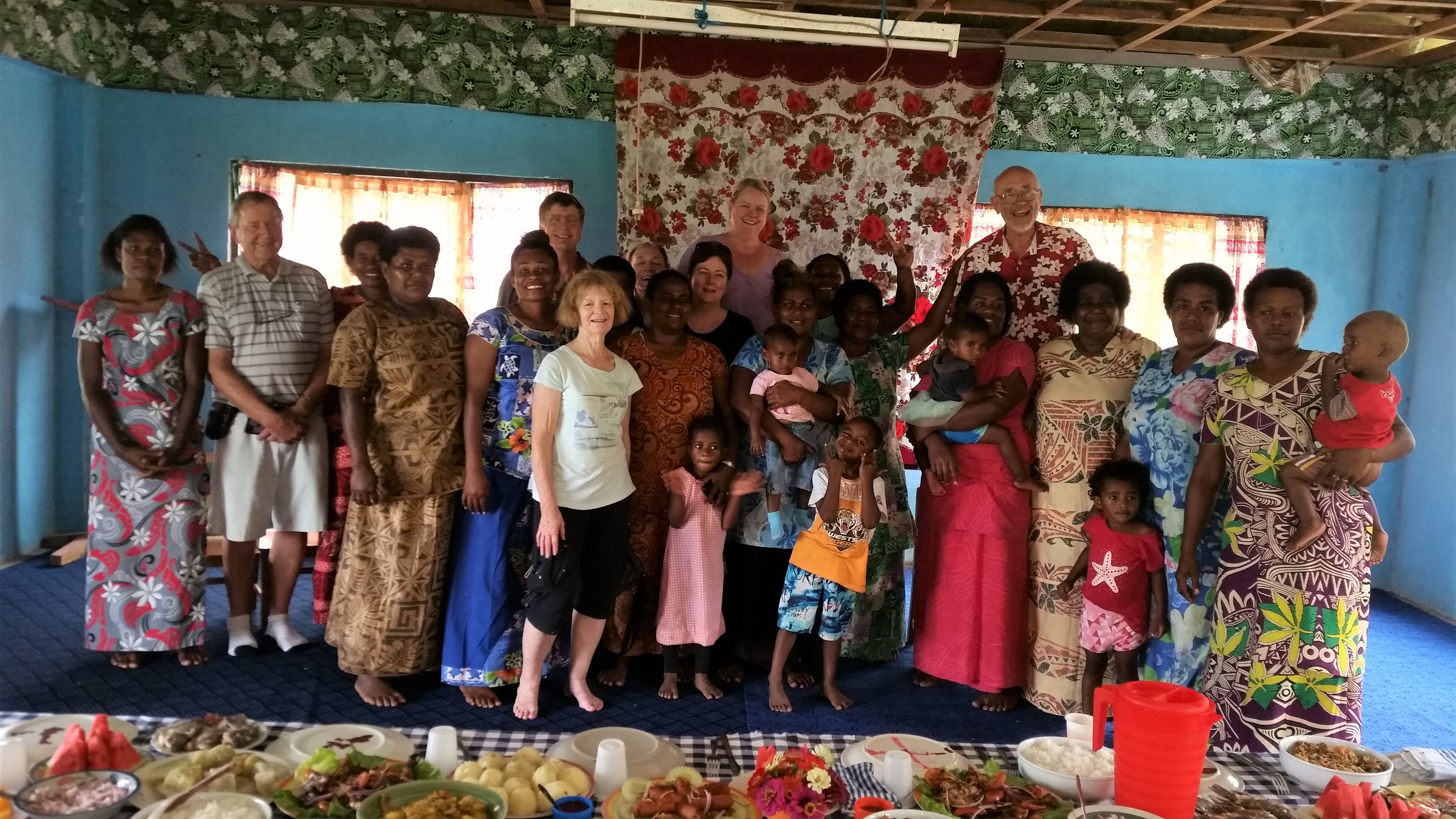 Rotary-team-with-women-from-a-Settlement-close-to-Nausori-Village