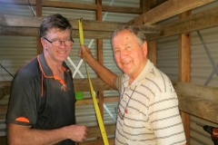 Ian-Graham-measuring-up-for-the-storeroom-shelves