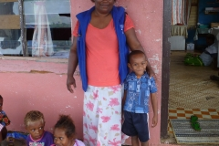 Miri with her son, Viliame Jnr